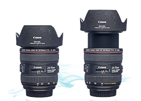 Canon 24-70 F4 IS makro optika bérlés