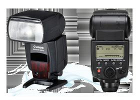 Canon 580ex II rendszervaku bérlés