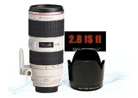 Canon 70-200 2.8 IS II L optika kölcsönzés, bérlés