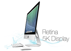 Apple iMac retina 5k bérlés