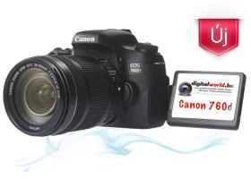 Canon 760d bérlés